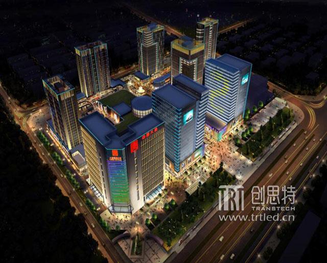 昆明南悦城景观亮化项目